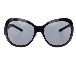 Authentic Chanel Oversized Sunglasses